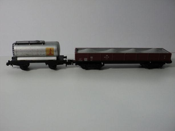 Комплект двух грузовых вагонов PIKO. Германия(1:160). Колея 9 мм.
