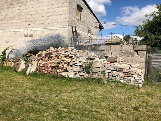 Cegły i kostki