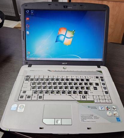 Ноутбук Acer 5720Z для работы и учебы, рабочая батарея!