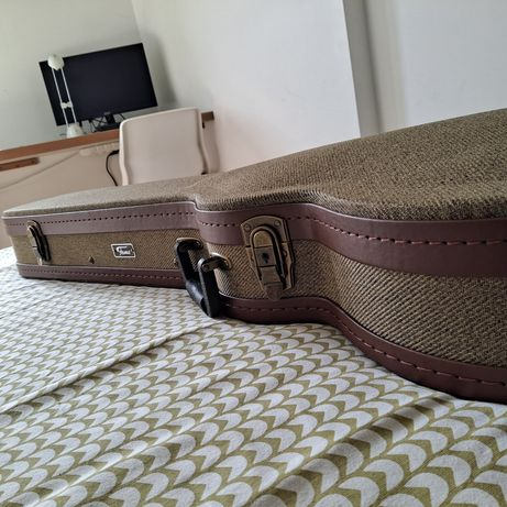 Mala/Saco/Hardcase Fame Tweed Vintage Case Single Cut