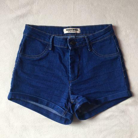 Krótkie, jeansowe spodenki Tally Weijl