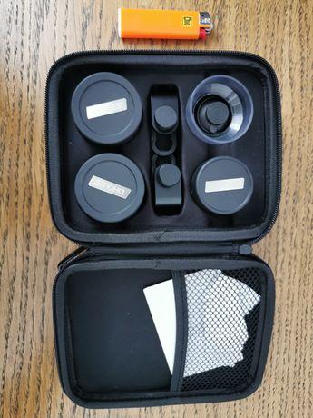 Набор объективов для мобильной фотографии (65mm,16mm,7.5mm,25mm macro)