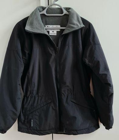 Columbia damska kurtka S czarna z polarem trekking outdoor polar