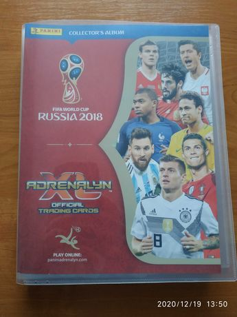 Zamienię karty Panini FIFA World Cup Russia 2018 Adrenalyn XL