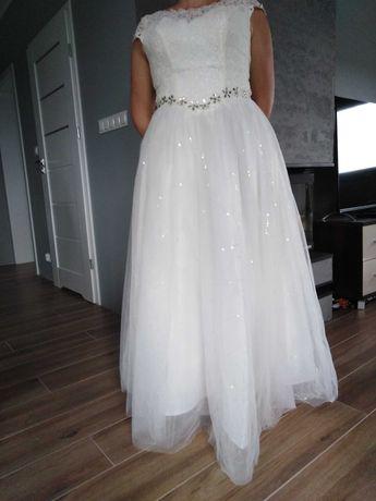 Lekka, regulowana suknia ślubna