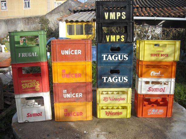 Grades antigas garrafas marcas diversas