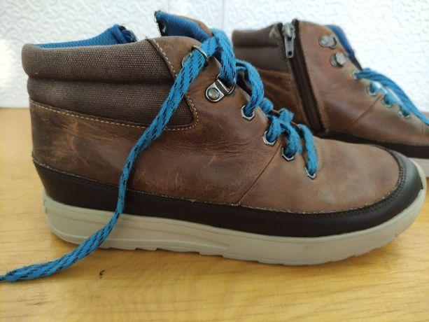 Детские кожаные ботинки Clarks