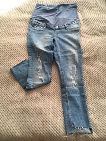 Jeansy ciążowe H&M Mama Rozmiar 42