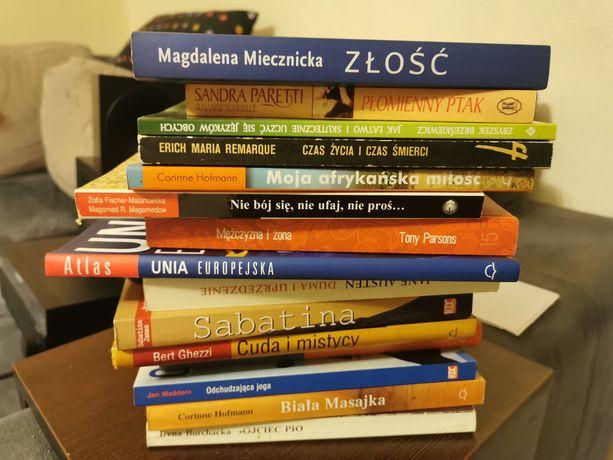 Oddam książki różne