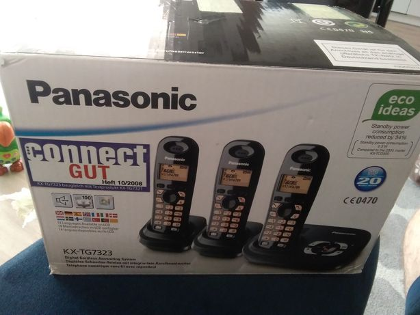 Telefon stacjonarny Panasonic kx-tg7323