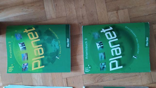 Podręcznik do niemieckiego Planet B1 ćwiczenia i podręcznik