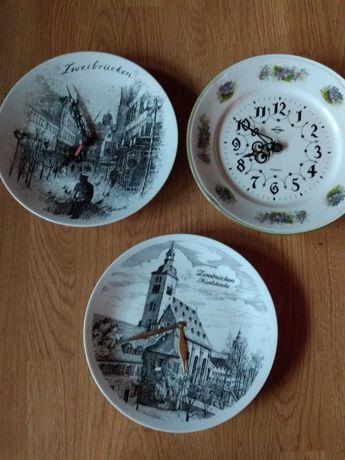 Zegary talerze na ścianę
