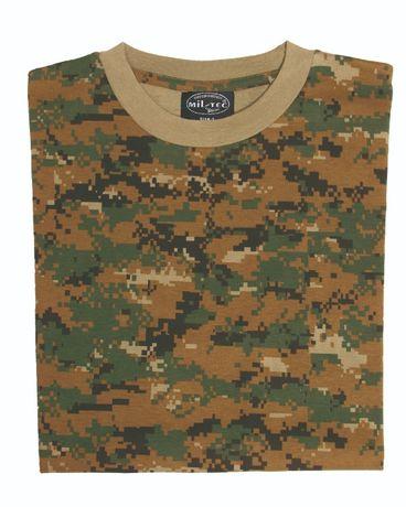 Koszulka wojskowa digital woodland