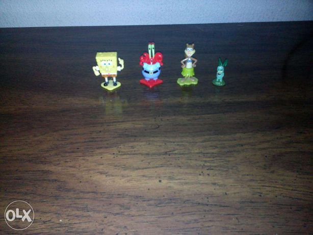 Bonecos Kinder Spongebob