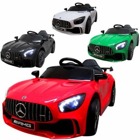 Auto Autko Na Akumulator Mercedes GTR-V koła EVA Fotel Ekoskóra NOWOŚĆ