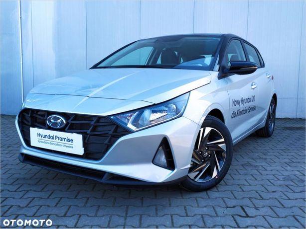Hyundai I20 Comfort Czarny Dach 1.25 84km Fvat