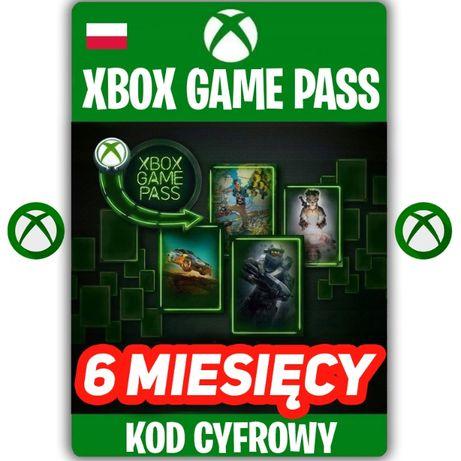 XBOX Game Pass 6 Miesięcy KOD ZDRAPKA 180 DNI Xbox One KEY PL
