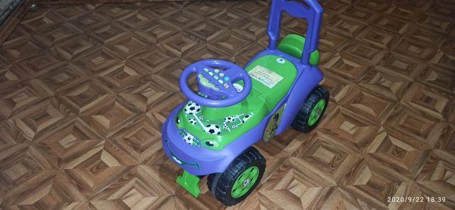 Детская машинка Толокар Автошка