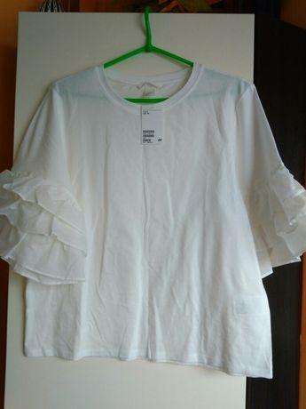 Białe bluzki Wyprzedaż