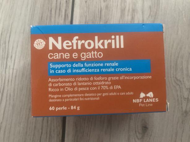 Nefrokrill 9 tabletek miękkich preparat łagodzący zapalenie nerek