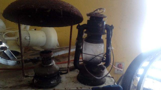 Lampy naftowe zabytek