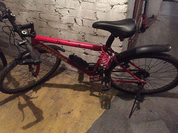 Rower 24' cali kola czerwony forester