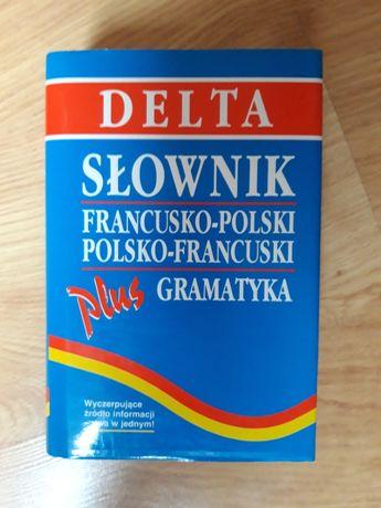 Delta Słownik Francusko-Polski, Polsko-Francuski, plus Gramatyka