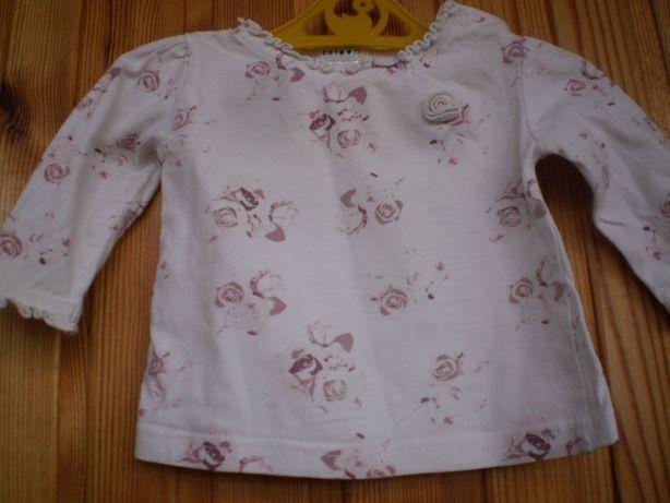 Кофточка футболка девочке 0-9 месяцев