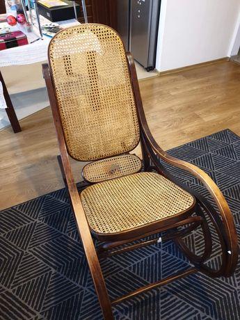 Fotel bujany zabytkowy
