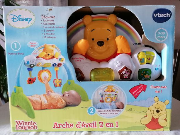 Arche d'éveil Winnie l'ourson neuf / Winnie the Poo Disney