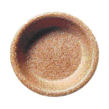 Miski jednorazowe jadalne z otrąb pszennych Biotrem 20 cm