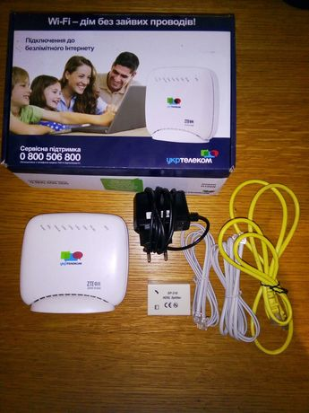 Wi-Fi роутер ZTE. Укртелеком