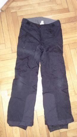 Spodnie zimowe ocieplane wzmocnione r.  146