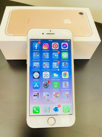 iPhone 7, Rose gold -128gbs como novo