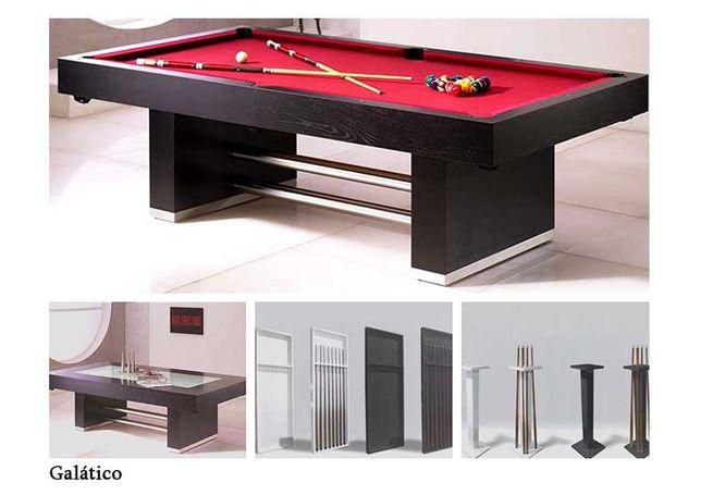 Bilhar Snooker Galatico com Tampo jantar - Bilhares Capital