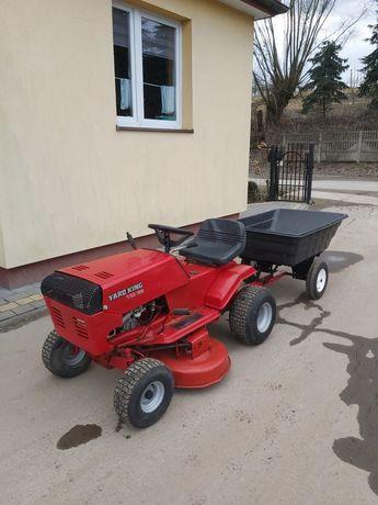 Kosiarka traktorek/przyczepka/Yard king