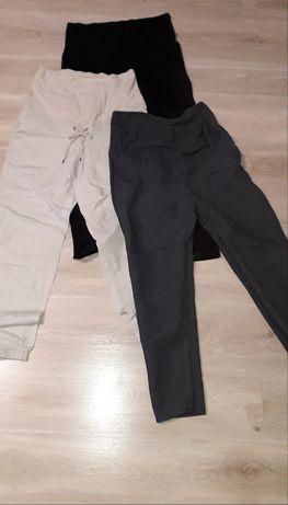 Spodnie ciążowe letnie H&M 42