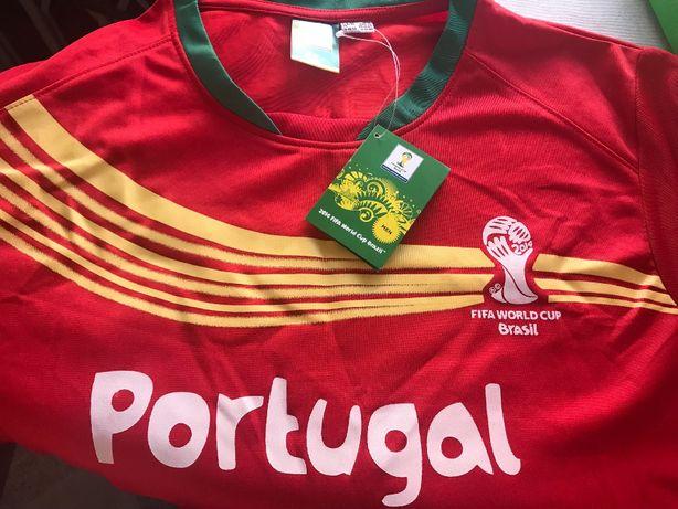 T-shirt oficial Copa Brasil 2014