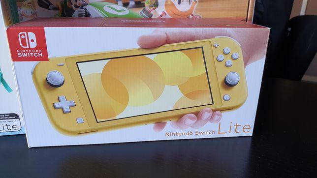 Nintendo Switch Lite żółty