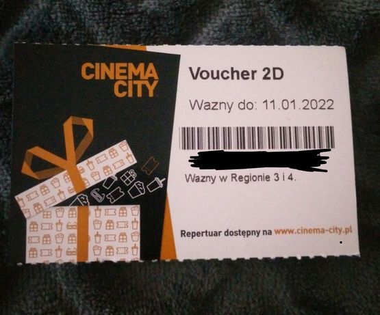 Cinema City Voucher  2D