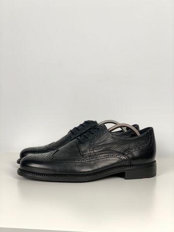 Туфли Lloyd original кожа 44.5 мужские черные броги оксфорды 28.5см