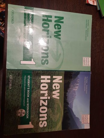 New Horizons ksiazka ucznia, ksiazka nauczyciela płyty