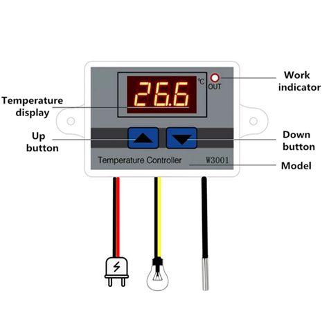 Termostato controlar de temperatura - NOVOS