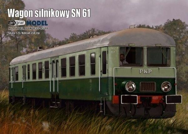 Angraf nr 5/2013 - Wagon silnikowy SN 61 skala1:25
