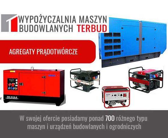 Agregat prądotwórczy, od 2kW do 250 kW. Wypożyczalnia Śląsk. Tanio