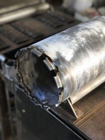 Реставрация алмазных коронок, пайка сегментов, востановление дисков.