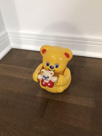 Zabawka kiwający miś misio Tomy przesyłka 1 zł