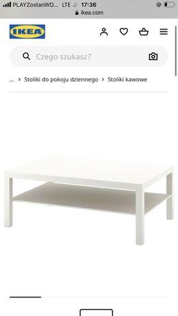 Stolik ława lack  biały 155x55cm, ikea
