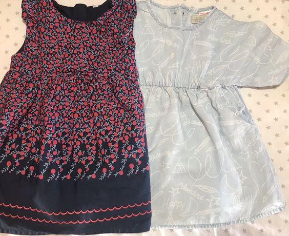 Sukienka Zara BabyGirl i Cocodrillo rozmiar 80