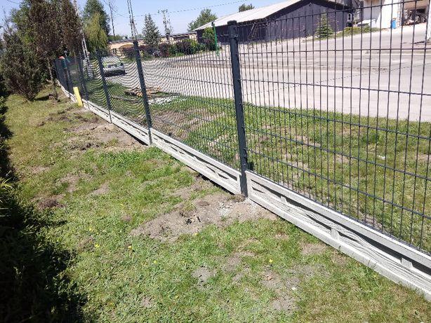 Panele ogrodzeniowe , podmurówka , słupek , obejma /komplet/ PRODUCENT